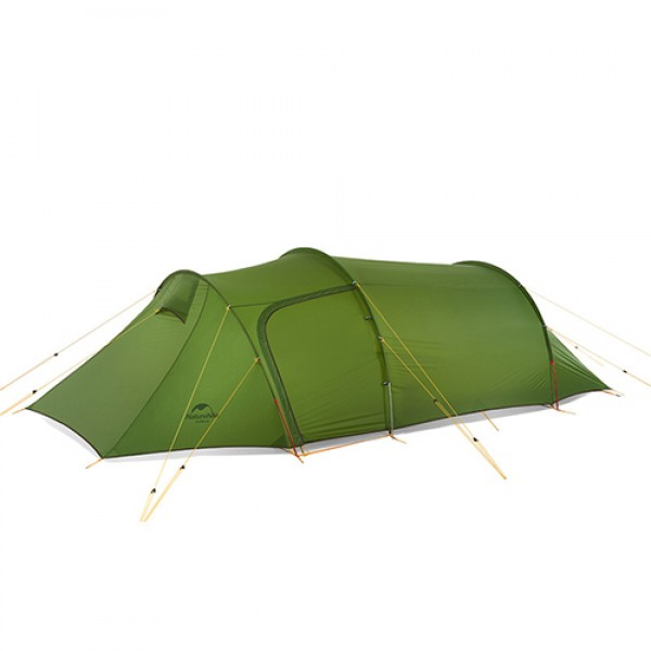 Lozkis Ultralight Opalus Tunnel Tent for 3 Persons 20D/210T Fabric Camping Tent NH17L001-L with free footprint