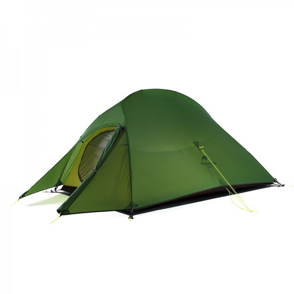 Lozkis Upgraded Cloud Up 2 Ultralight Tent Free Standing 20D Fabric Camping Tents For 2 Person With free Mat NH17T001-T