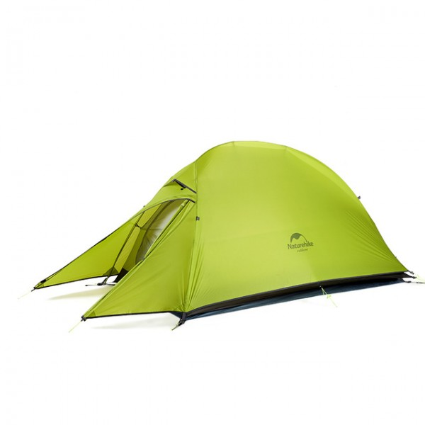 Lozkis CloudUp Series Ultralight Hiking Tent 20D/210T Fabric  For 1 Person With Mat Warm Tent NH18T010-T