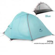 Lozkis Wind-Wing 1-2 Person Tent Hiking Camping Tent Ultralight 20D/210T Fabric NH16S012-S