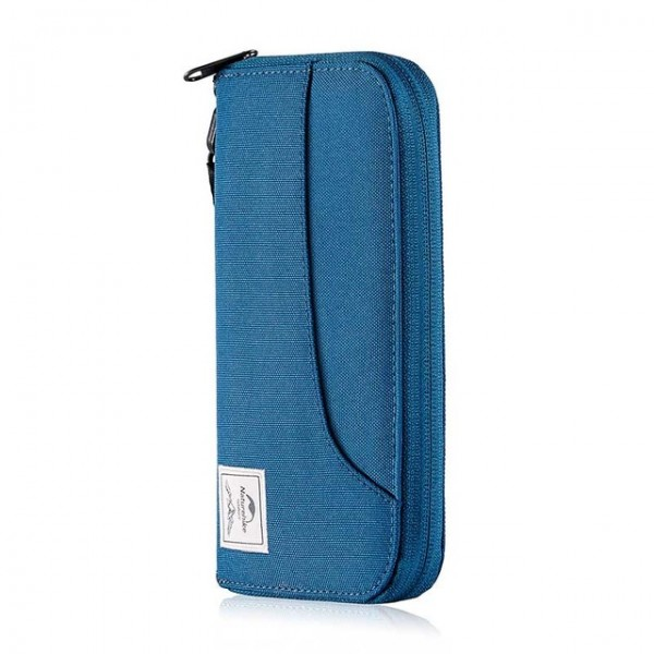 Lozkis Multifunctional RFID Travel Wallet Ultralight Protable Travel Bag for Documents Credit Cards NH18X020-B